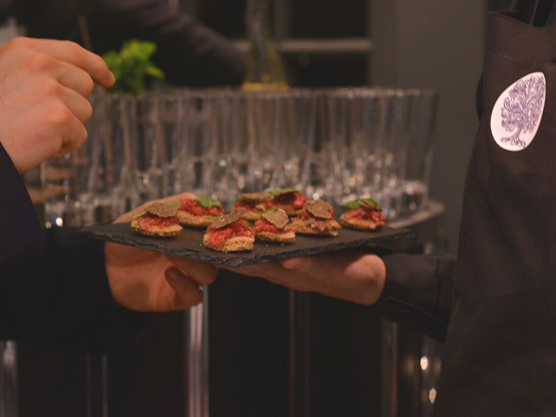 Mr Truffle catering events